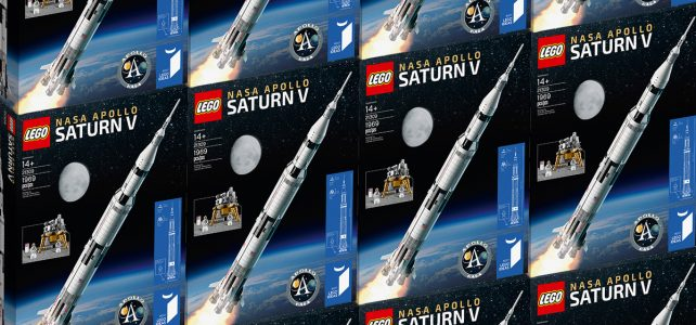 LEGO Ideas 21309 NASA Apollo Saturn V stocks