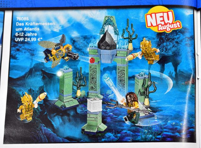 LEGO Justice League 76085 Battle of Atlantis