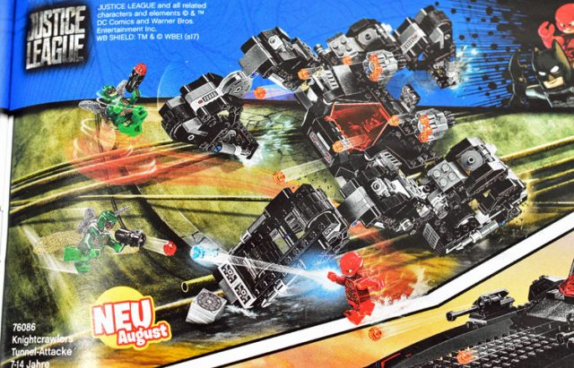 LEGO Justice League 76086 Knightcrawler Tunnel Attack