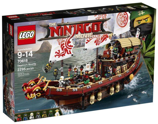 The LEGO Ninjago Movie 70618 Destiny's Bounty