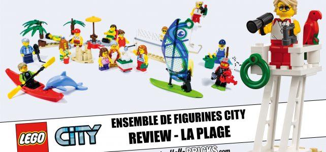 Review Lego 60153 - Ensemble de figurines Lego City la plage