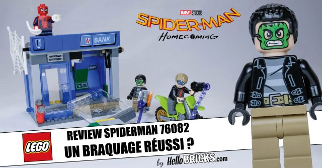 REVIEW LEGO 76082 Spider-Man Homecoming ATM Heist Attack