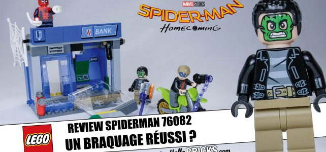 Review LEGO 76082 - Spiderman Homecoming - ATM Heist Attack