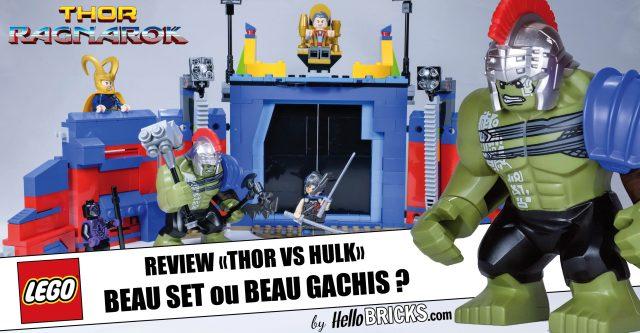 REVIEW LEGO 76088 Thor contre Hulk (Thor Ragnarok)
