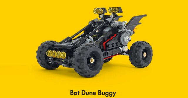 The LEGO Batman Movie Bat Dune Buggy