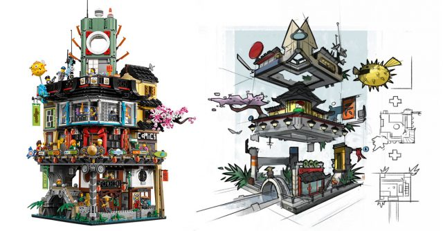 The LEGO Ninjago Movie 70620 Ninjago City