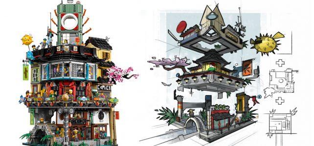 The LEGO Ninjago Movie 70620 Ninjago City