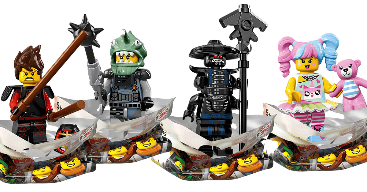 minifigs collectionner the lego ninjago movie lego 71019 les 20 personnages. Black Bedroom Furniture Sets. Home Design Ideas