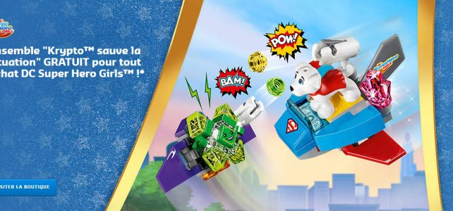 polybag LEGO 30546 Krypto saves the day