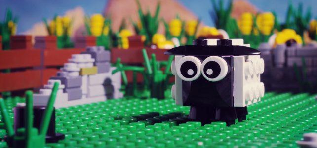 Brickfilm Moutons LEGO