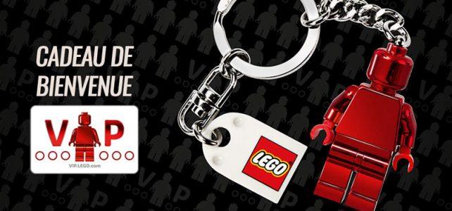 Cadeau de bienvenue LEGO VIP porte-clés 853303