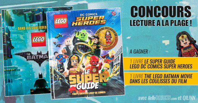 Concours Qilinn Le Super Guide LEGO DC Comics