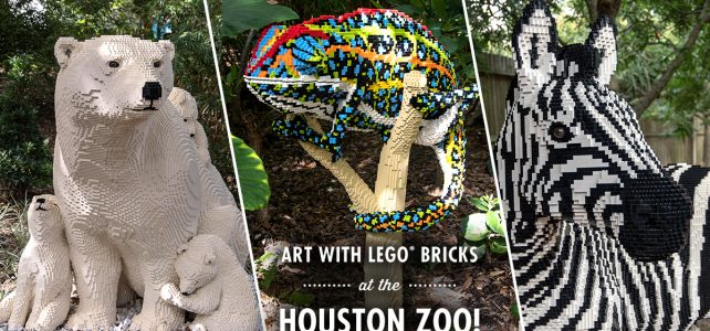 Houston Zoo LEGO Nature Connects expo