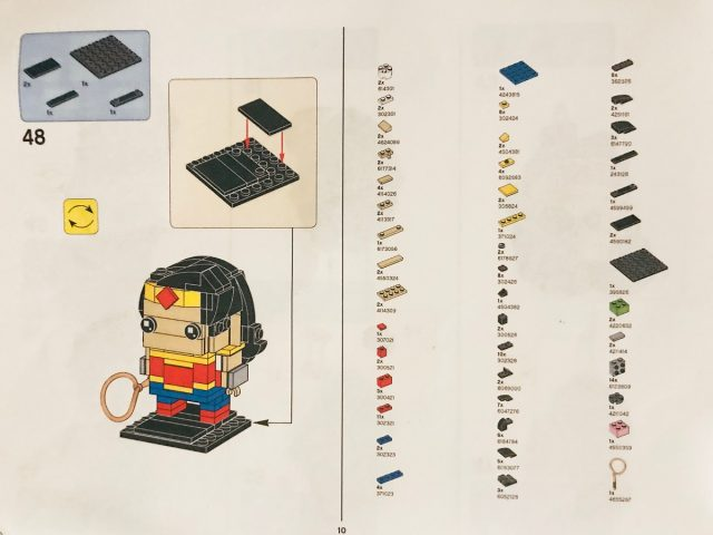 LEGO BrickHeadz Wonder Woman Instructions
