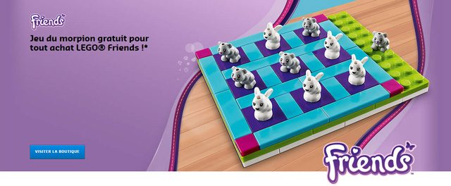 LEGO Friends 40265 Tic Tac Toe offert