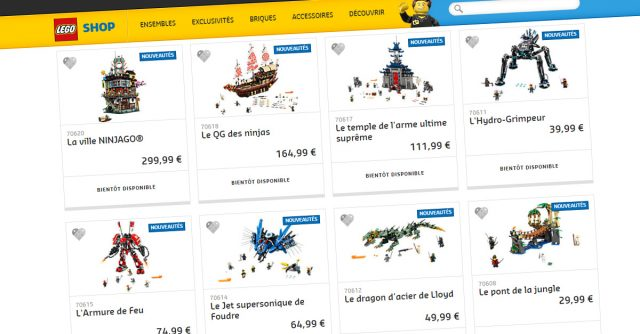 LEGO Shop The LEGO Ninjago Movie