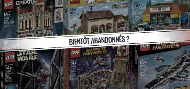 Sets LEGO D2C bientot abandonnés