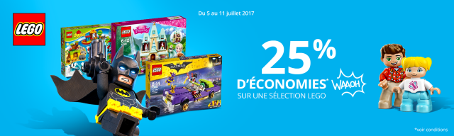 Soldes Auchan LEGO