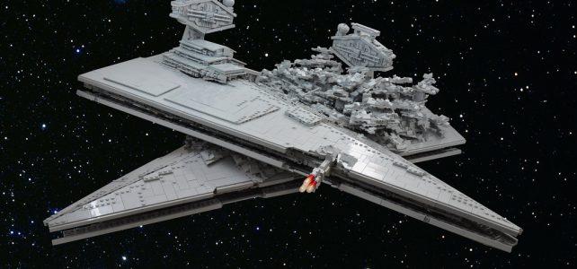 Star Wars Rogue One Star Destroyers crash