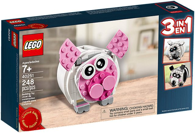 Tirelire LEGO 40251 Mini Piggy Bank