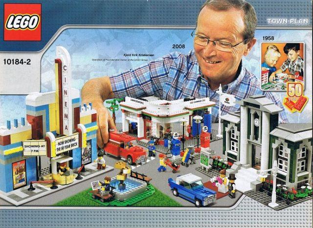10184 LEGO Town Plan