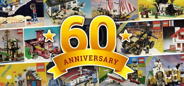Anniversaire LEGO 60 ans