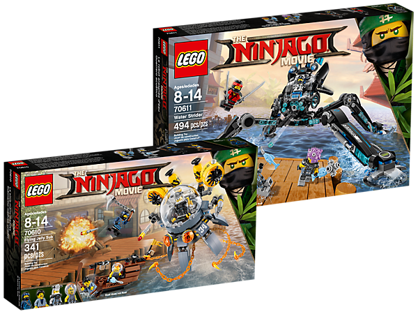 LEGO 5005412 The LEGO Ninjago Movie