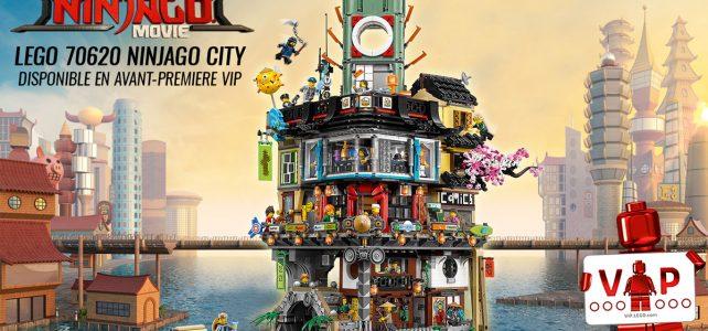LEGO 70620 NINJAGO City VIP