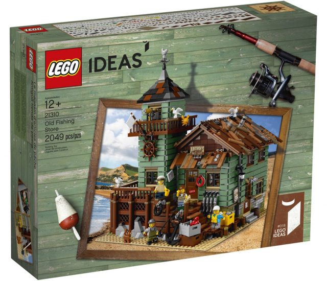 LEGO Ideas 21310 Old Fishing Store dédicace