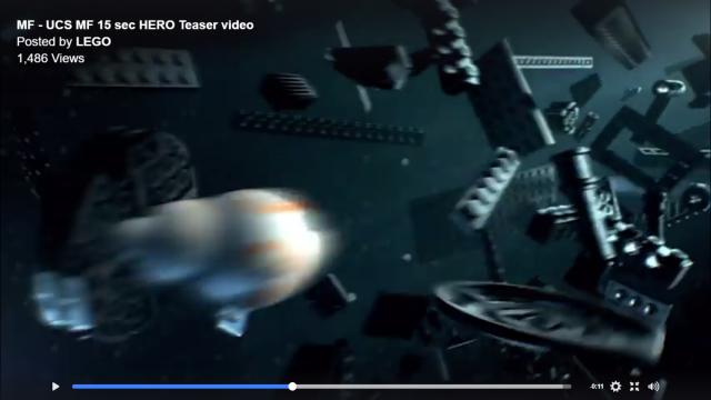 LEGO Star Wars 75192 UCS Millennium Falcon MF teasing