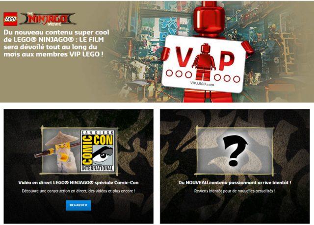 LEGO VIP The LEGO Ninjago Movie
