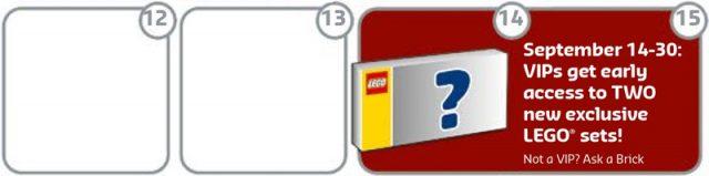 LEGO avant premiere VIP
