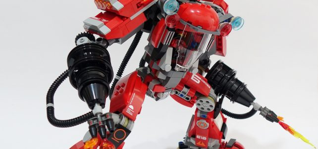 MOD The LEGO Ninjago Movie 70615 Fire Mech