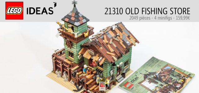REVIEW LEGO Ideas 21310 Old Fishing Store