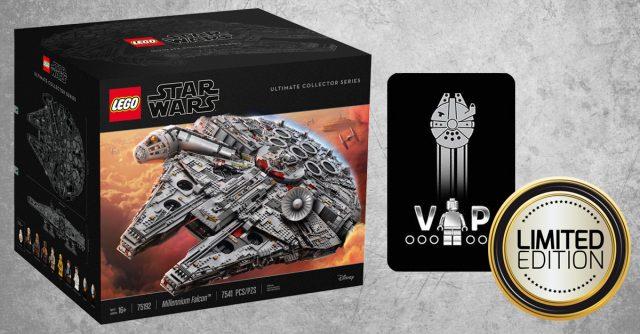 Carte VIP LEGO Star Wars edition limitee