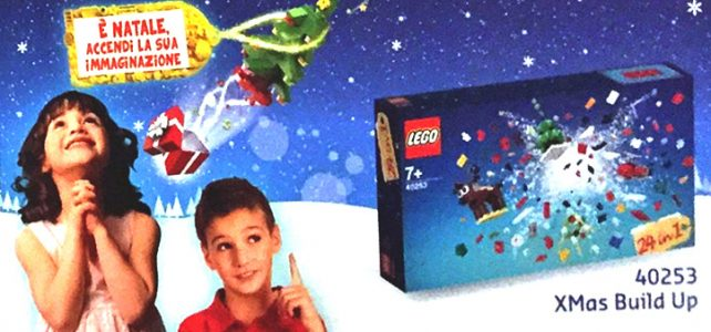 LEGO 40253 Christmas Build-Up