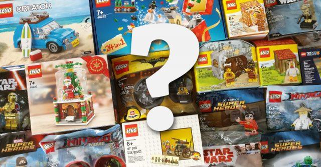 LEGO GWP sondage cadeaux polybags