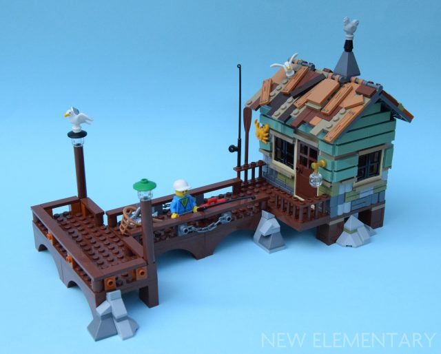 LEGO Ideas 21310 Old Fishing Store B-Model
