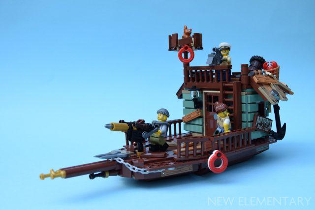 LEGO Ideas 21310 Old Fishing Store B-Model One Set MOC