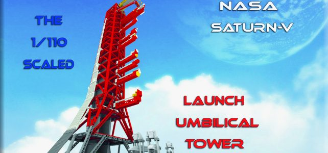 LEGO Ideas NASA Saturn-V Launch Umbilical Tower