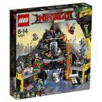 LEGO Ninjago Movie 70631 Garmadon's Volcano Lair box
