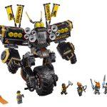 LEGO Ninjago Movie 70632 Cole's Quake Mech