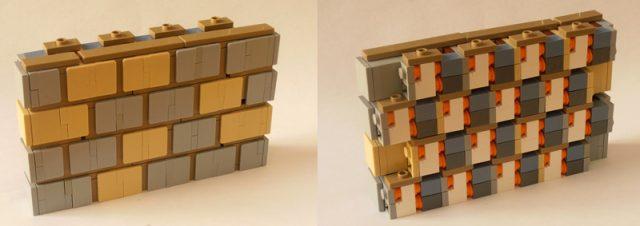 LEGO Wall technique