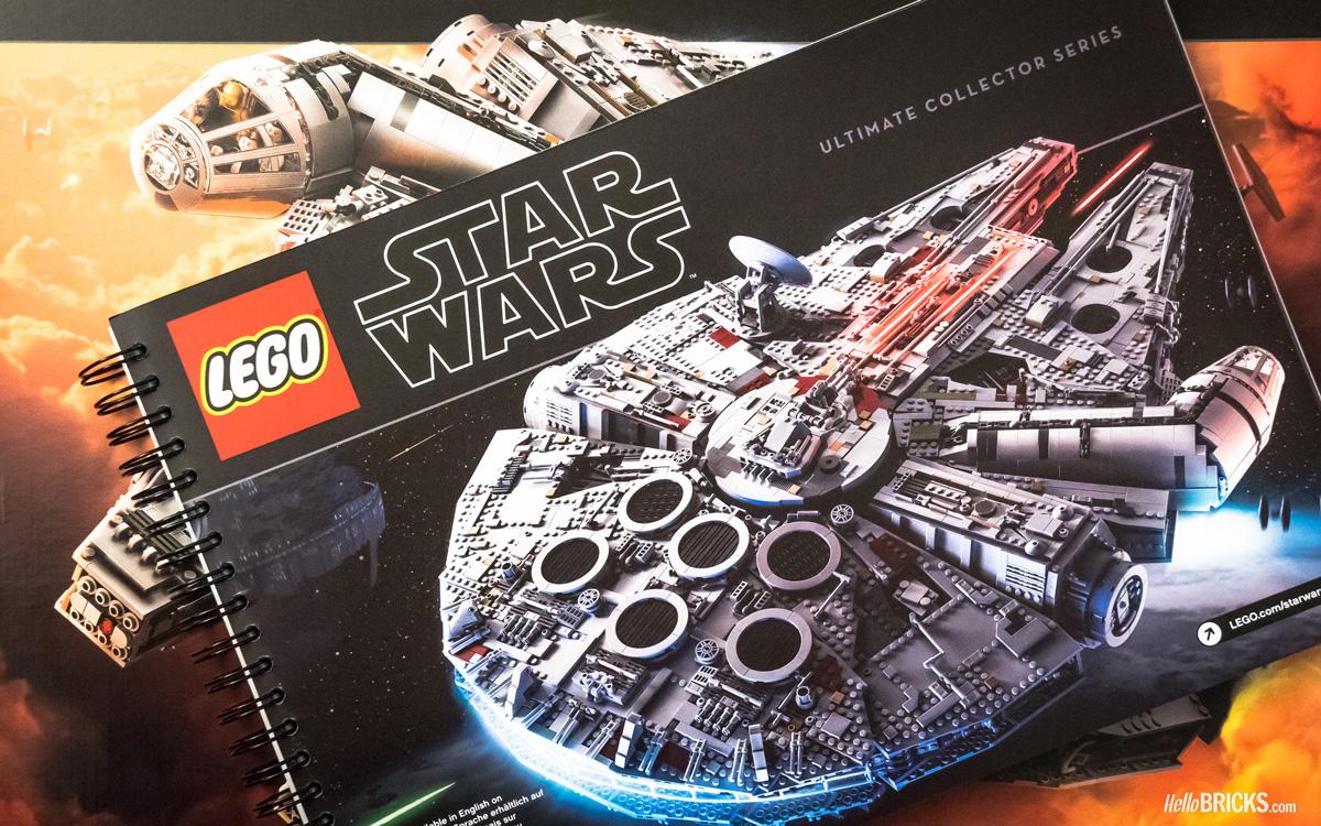 Review lego star wars 75192 ucs millennium falcon le set - Bd lego star wars ...