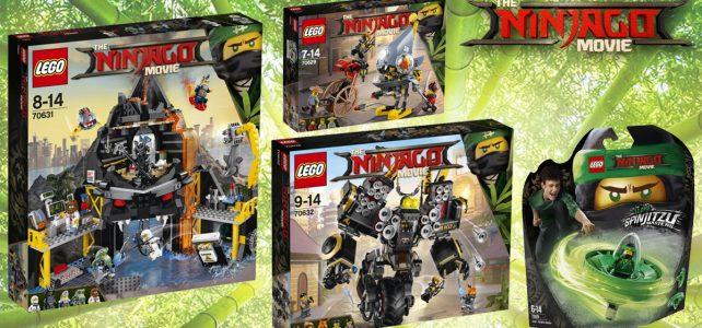 The LEGO Ninjago Movie wave 2