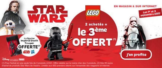 Toys R Us promo 2+1 LEGO
