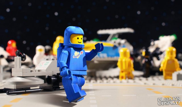 Costume minifig LEGO Benny
