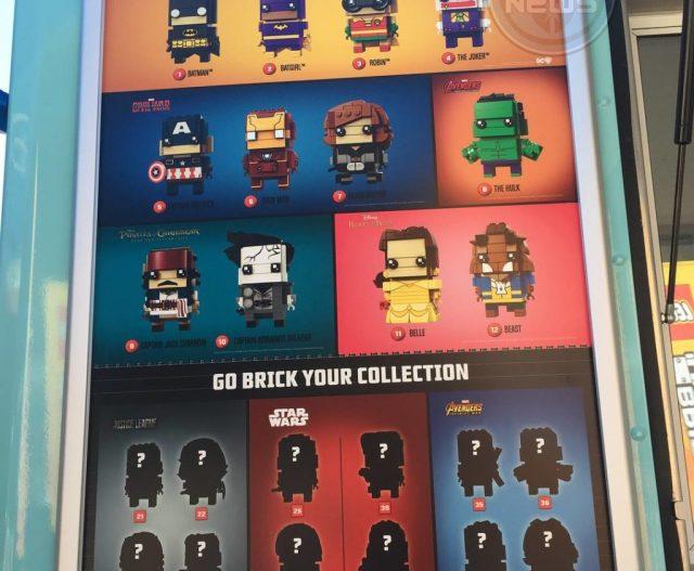 LEGO BrickHeadz 2017 2018