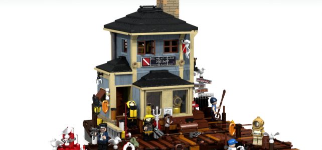 LEGO Ideas dive shop