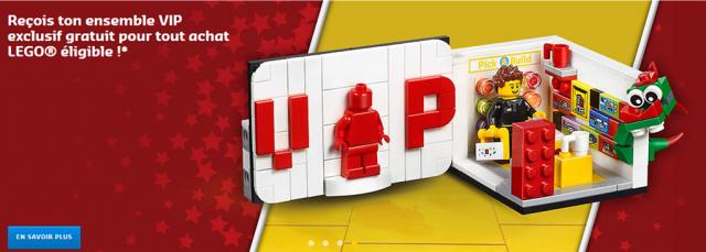 LEGO VIP exclusif